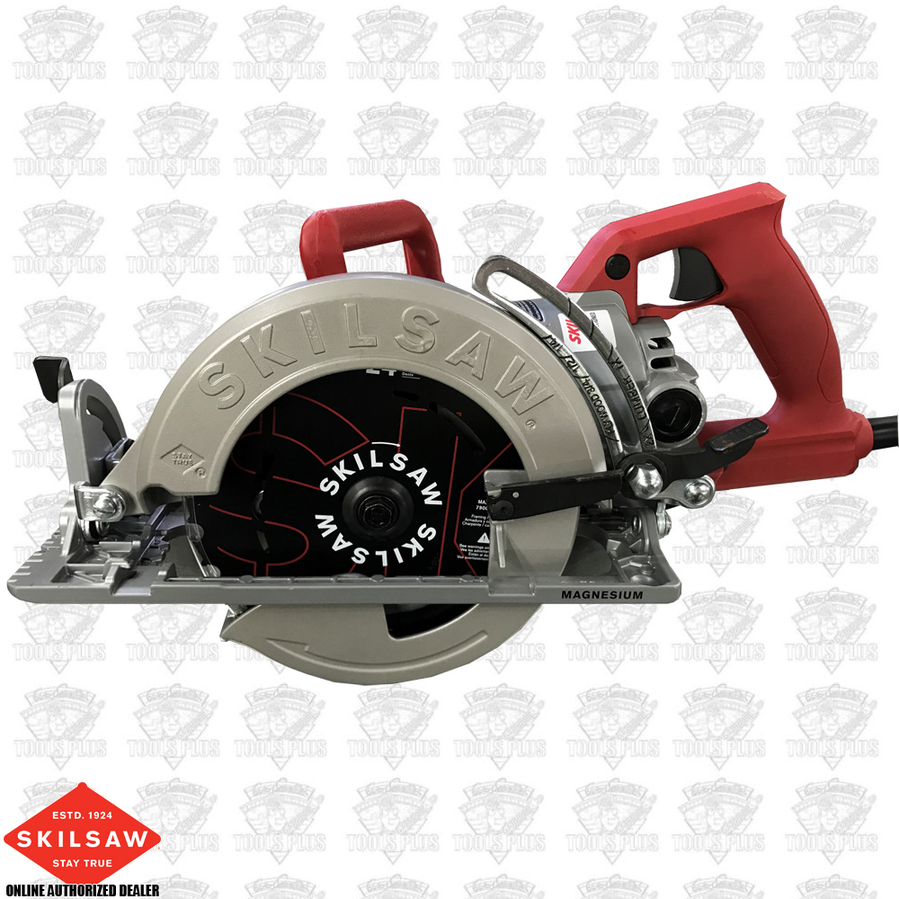 Skil spt77wm rt 15 amp 7 14 mag worm drive skilsaw circular saw greentooth Image collections
