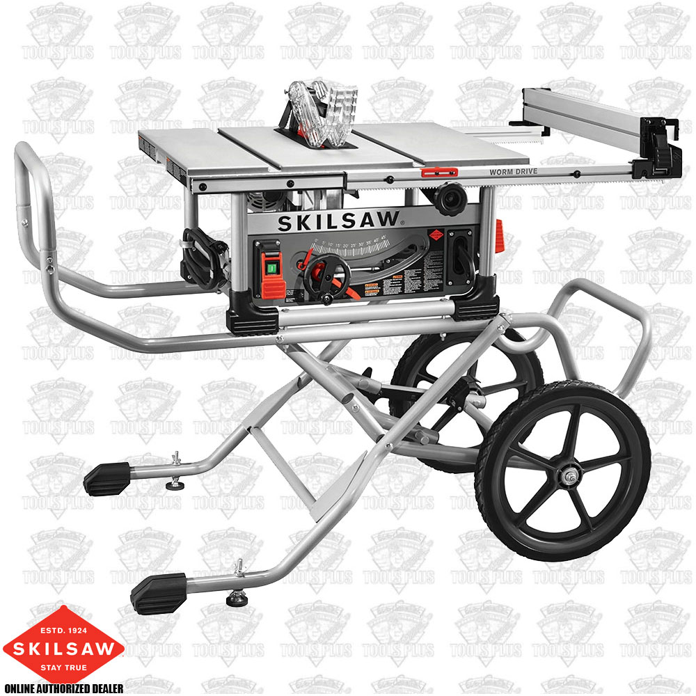 Skil Spt99 12 10 Heavy Duty Worm Drive Table Saw Amp Stand