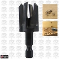 """Snappy 40340 5/8"""" Tapered Plug Cutter, 11/32"""" Hex Shank"""
