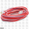 Southwire 2549SWUSA1 100' 12/3 Red White + Blue Outdoor Ext Cord