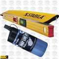 "Stabila 36548 48"" Electronic Level IP65 w/ Case + Tajima Black Chalk"