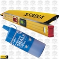 "Stabila 36548 48"" Electronic Level IP65 w/ Case + Tajima Blue Chalk"