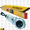 "Stabila 36548 48"" Electronic Level IP65 w/ Case + Tajima Chalk Reel"