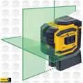 Stabila LAX300G ProLiner Cross Line Laser Plus Plumb Points