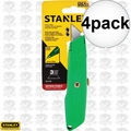 "Stanley 10-179 5-5/8"" High Visibility Retractable Utility Knife 4x"