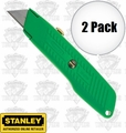 "Stanley 10-179 2pk 5-5/8"" High Visibility Retractable Utility Knife"
