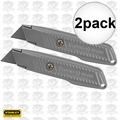 Stanley 10-299 2pk Fixed Blade Utility Knife