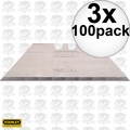 Stanley 11-921 A 100pk Utility Blades New in Dispenser & factory pkg 3x