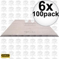 Stanley 11-921 A 100pk Utility Blades New in Dispenser & factory pkg 6x