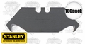 Stanley 11-961A 100pk Heavy Duty Hook Blades with Dispenser