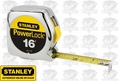 "Stanley 33-116 16' x 3/4"" PowerLock Tape Measure"