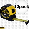 Stanley 33-725 12pk 25ft FatMax Tape Rule