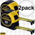 Stanley 33-725 2pk 25ft FatMax Tape Rule