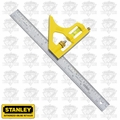 "Stanley 46-123 12"" Premium Etched Blade Combination Square"