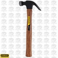 Stanley 51-616 16 Ounce Curved Claw Wood Handle Nail Hammer