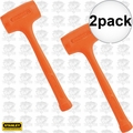Stanley 57-531 18oz Compo-Cast Standard Head Soft Face Hammer 2x