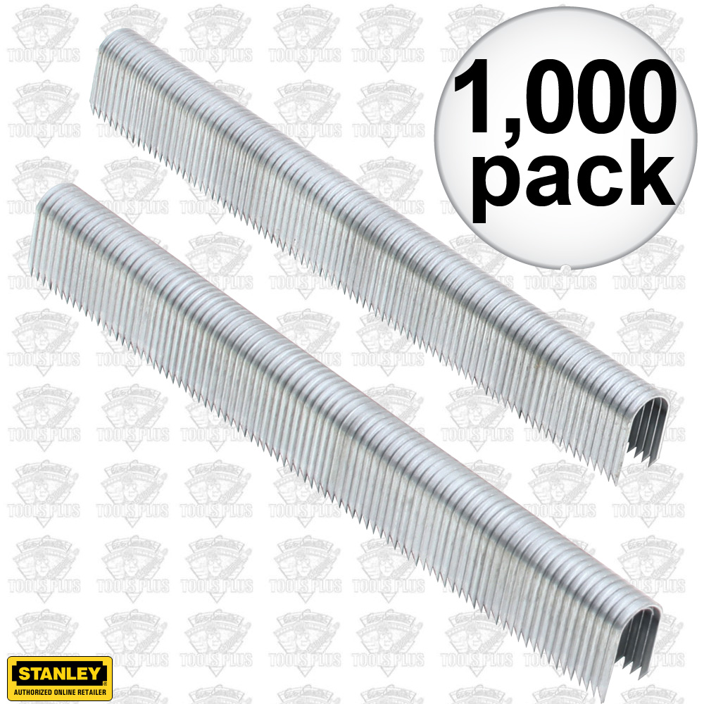 stanley ct107t 1000pk 7 16 round crown cable staples. Black Bedroom Furniture Sets. Home Design Ideas