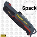 Stanley FMHT10242 6pk Stanley FatMax Safety Knife