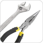 Pliers, Wrenches and Sockets