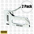 Stanley TR110 2pk Light Duty Steel Staple Gun