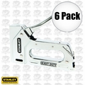 Stanley TR110 6pk Light Duty Steel Staple Gun