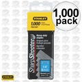 "Stanley TRA704T Box of 1000 1/4"" Heavy Duty Staples"