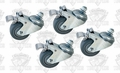 SuperMax 98-0130 Swivel Locking Caster Set