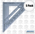 Swanson SO114 5pk Magnetic Edge Speed Square