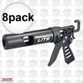 Tajima CNV-100LT 8pk Convoy Lite Feather Weight Caulk Gun 1/10 Gallon