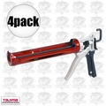 Tajima CNV-100SP 4pk Convoy Super Rotary Caulk Guns 1/10 Gallon