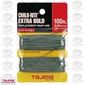 "Tajima PL-ITOL 100 ft .04"" Bold Braided Replacement Chalk Line"