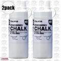 Tajima PLC2-W300 2pk 10.5oz 300g Micro Powder Ultra Fine Line Chalk White