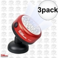 Ullman RT-2LT Rotating Magnetic LED Work Light 3x