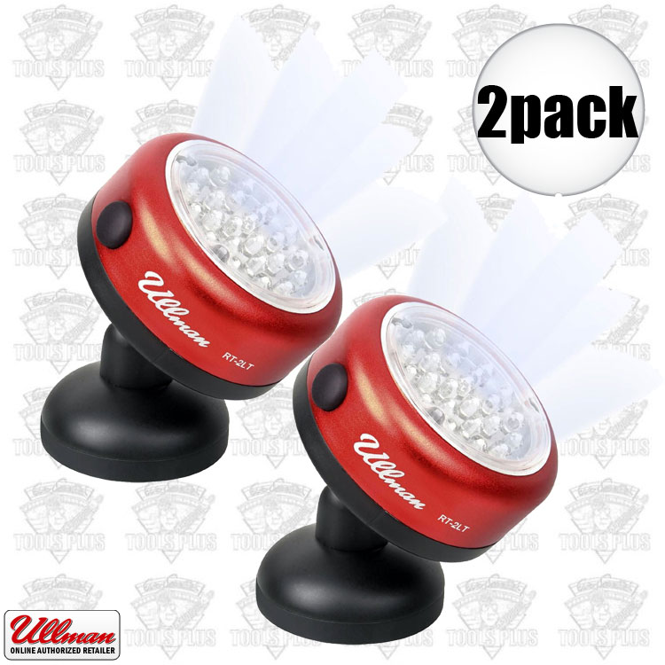 Ullman Rt 2lt Rotating Magnetic Led Work Lights 2x
