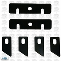 Virutex AU-93B AU93 Edgeband Trimmer Replacment Blade Set