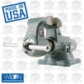 "Wilton 10011 3-1/2"" 350S Machinists' Bench Vise w/ Swivel Base"