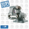 "Wilton 10021 4-1/2"" 450S Machinists' Bench Vise w/ Swivel Base"