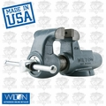 "Wilton 10086 4-1/2"" 450N Machinists' Bench Vise w/ Stationary Base"