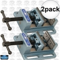 "Wilton 11744 4"" Low Profile Drill Press Vise 2x"