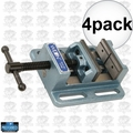 "Wilton 11744 4"" Low Profile Drill Press Vise 4x"
