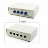 4Port CAT5 RJ45 Premium Manual Switch