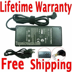 Acer Aspire 1451LMi AC Adapter Charger, Power Supply Cord