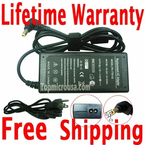 Acer Aspire 5002LM AC Adapter Charger, Power Supply Cord