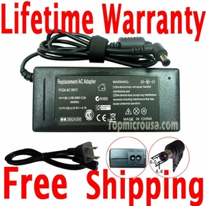 Delta Sony PCGA-AC19V10, PCGA-AC19V11 AC Adapter, Power Supply Cable