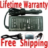 Fujitsu LifeBook P5010D, P5020, P5020D AC Adapter, Power Supply Cable