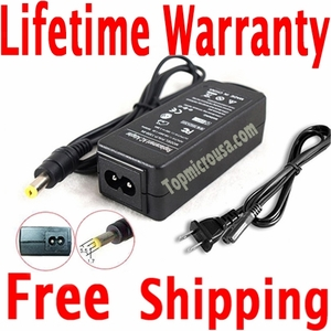 Gateway NV55C54u AC Adapter, Power Supply Cable
