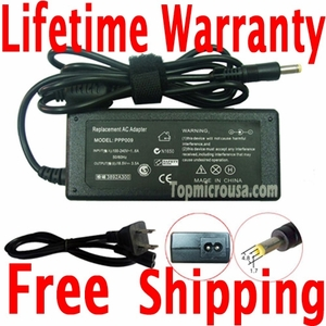HP Pavilion DV1127ap AC Adapter Charger, Power Supply Cord