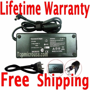 Sony VAIO PCG-K15F AC Adapter Charger, Power Supply Cord