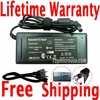 Sony VAIO VGN-SR290JVB, VGN-SR290N, VGN-SR290NTB AC Adapter, Power Supply Cable