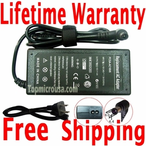 Sony VAIO VGN-TT190NGB AC Adapter Charger, Power Supply Cord